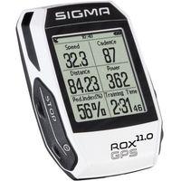 Liczniki rowerowe, Sigma Licznik rowerowy Sigma ROX 11.0 GPS Basic White
