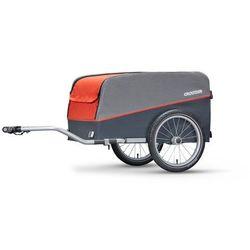 Croozer Cargo Przyczepka rowerowa szary/czerwony 2019 Przyczepki transportowe Przy złożeniu zamówienia do godziny 16 ( od Pon. do Pt., wszystkie metody płatności z wyjątkiem przelewu bankowego), wysyłka odbędzie się tego samego dnia.