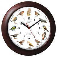 Zegary, Duży drewniany zegar z głosami ptaków #2