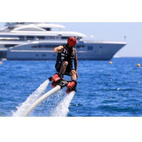 Pozostałe sporty wodne, Flyboard – ewolucje na wodzie dla 2 osób – Jezioro Zegrzyńskie