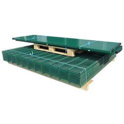 vidaXL Panele ogrodzeniowe 2D z słupkami - 2008x2230 mm 10 m Zielone Darmowa wysyłka i zwroty