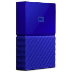 """WD My Passport 2TB 2,5"""" USB 3.0 (niebieski) - produkt w magazynie - szybka wysyłka!"""