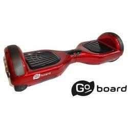 """Deskorolka elekryczna GoBoard koła 6,5 """" standard Pro /czerwona/"""