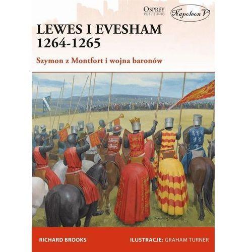 Historia, Lewes i Evesham 1264-1265 Szymon z Montfort (opr. broszurowa)