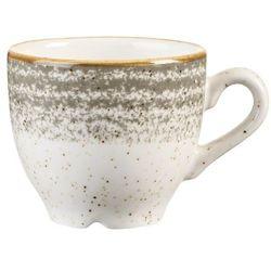 Filiżanka do espresso 100 ml | CHURCHILL, Homespun Style Stone Grey