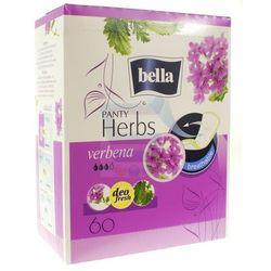Wkładki higieniczne Bella Herbs wzbogacone werbeną 60 szt.