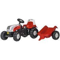 Traktory dla dzieci, Rolly Toys Traktor Steyer Kid z przyczepą - BEZPŁATNY ODBIÓR: WROCŁAW!
