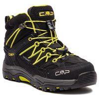 Kozaki dziecięce, Trekkingi CMP - Kids Rigel Mid Trekking Shoes Wp 3Q12944 Nero/Limeade 83BG