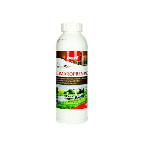 Środki na szkodniki, Komaropren PBO 1l. Oprysk na komary w ogrodzie