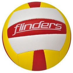 Piłka siatkowa AXER SPORT Finders A20500 Żółto-czerwona (rozmiar 5) + Zamów z DOSTAWĄ JUTRO!