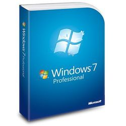 Windows 7 Professional, naklejka z kluczem i DVD 64-bit