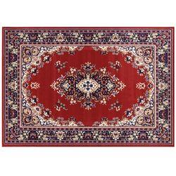 Dywan PADOUE — polipropylen — 160 × 230 cm — czerwony