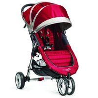 Wózki spacerowe, Wózek BABY JOGGER City Mini Single Crimson/Gray + DARMOWY TRANSPORT!