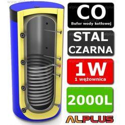 Bufor LEMET 2000L z 1 Wężownicą do CO - Zbiornik Buforowy Zasobnik Akumulacyjny 2000 litrów - Wysyłka Gratis