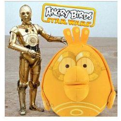 Duża Maskotka Angry Birds Star Wars 21cm pluszak C-3PO