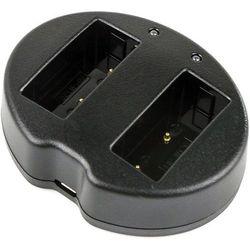 Fuji FinePix HS30 / BC-W126 ładowarka USB DC 8.4V x 2 do NP-W126 (Cameron Sino)