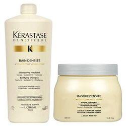 Kerastase Densifique Densite   Zestaw zagęszczający: szampon + maska: 1000ml + 500ml
