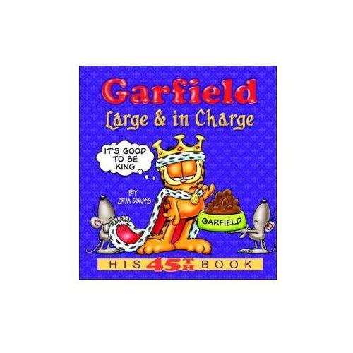 Książki do nauki języka, Garfield Large & in Charge (opr. miękka)