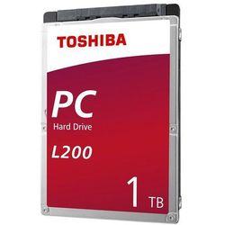 "Dysk Toshiba L200 Mobile 1TB 2,5"" SATA 5400rpm 128MB 7mm BOX"