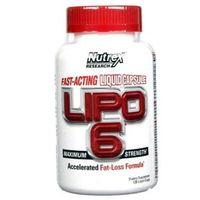 Redukcja tkanki tłuszczowej, Nutrex Lipo 6 120 kaps.