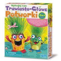 Pozostałe zabawki, 4m Zrób To Sam - trawiastogłowe potworki