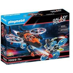 Playmobil Galaxy Police: Helikopter piratów (70023). Wiek: 5+
