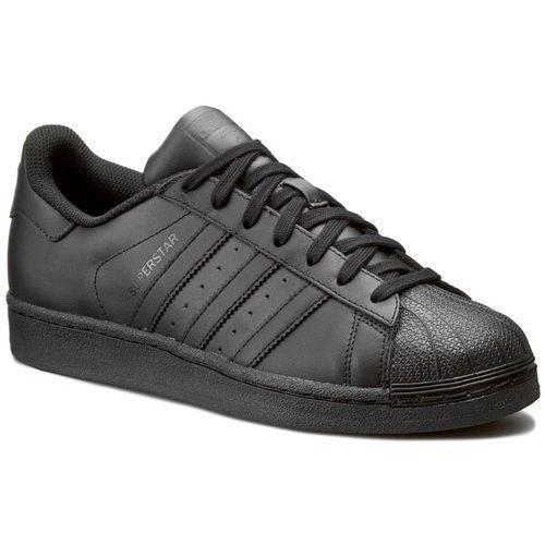 Półbuty męskie, Buty adidas - Superstar Foundation AF5666 Cblack/Cblack/Cblack
