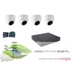 Zestaw do monitoringu 4w1 1080P Longse XVRA2004D42 2MP 4 kamery