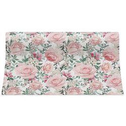 Bieżnik na stół ROSES różowy 33 x 480 cm