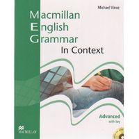 Książki do nauki języka, Macmillan English Grammar in context advanced with key (opr. miękka)