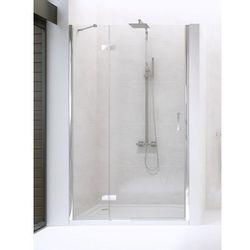 NEW RENOMA Drzwi prysznicowe 100x195 LEWE, szkło czyste + Active Shield D-0099A * wysyłka gratis!