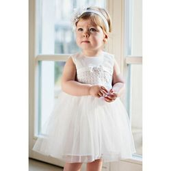 Sukienka niemowlęca na Chrzest 6K38AJ Oferta ważna tylko do 2023-05-28
