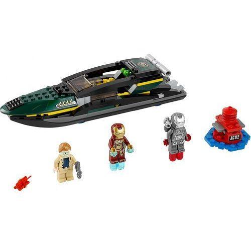 Klocki dla dzieci, Lego SUPER HEROES Bitwa o port 76006