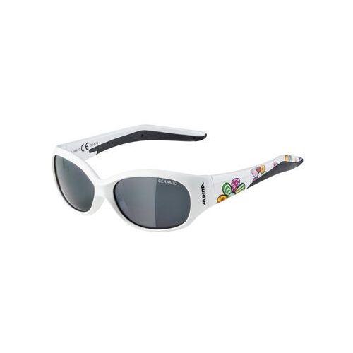 Okulary przeciwsłoneczne dla dzieci, Alpina Flexxy Kids Okulary Dzieci, white flower 2019 Okulary przeciwsłoneczne dla dzieci