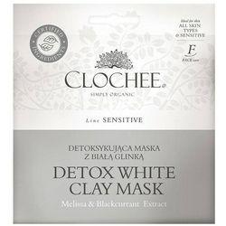 Detoksykująca maska z białą glinką
