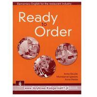 Książki do nauki języka, Ready to Order Workbook (zeszyt ćwiczeń) (opr. miękka)