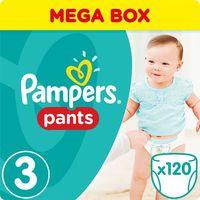Pieluchy jednorazowe, Pampers, Active Baby Pants Mega Box. Pieluchomajtki, rozmiar 3 Midi, 120szt - Pampers