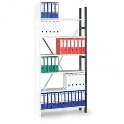 Regał archiwalny Variant, 2190x1000x300 mm, ocynkowane półki, dodatkowy