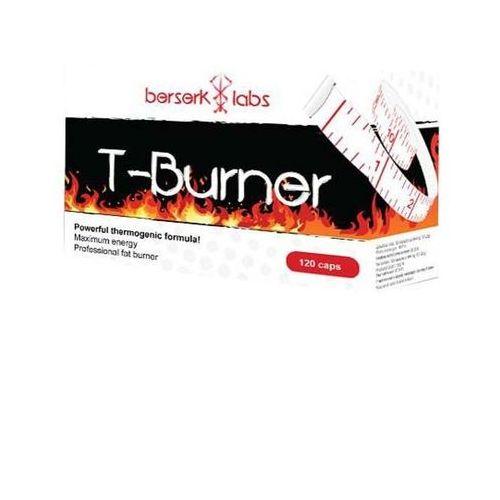 Redukcja tkanki tłuszczowej, BERSERK LABS T-BURNER - 120KAPS.