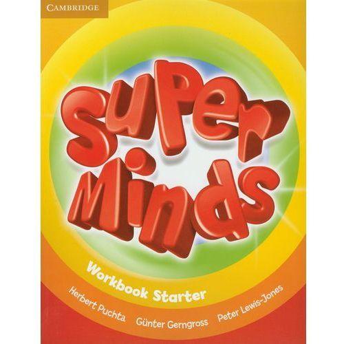 Książki do nauki języka, Super Minds Starter Workbook (opr. miękka)
