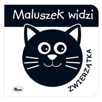 Książki dla dzieci, Maluszek widzi Zwierzątka (opr. kartonowa)