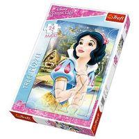 Puzzle, Puzzle TREFL 14234 Maxi Księżniczki Rozmarzona Śnieżka (24 elementy)
