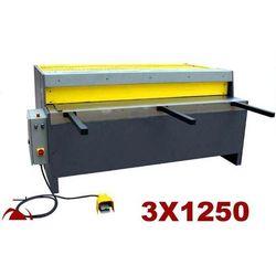 GILOTYNA MECHANICZNA NOŻYCE GILOTYNOWE DO BLACHY MAKTEK NG3 x 1250 mm EWIMAX promocja (--229%)