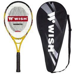 Rakieta do tenisa ziemnego WISH Fusiontec 500 Żółto-czarny