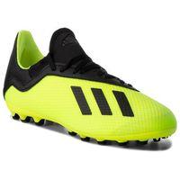 Piłka nożna, Buty adidas - X 18.3 Ag CG7168 Syello/Cblack/Syello