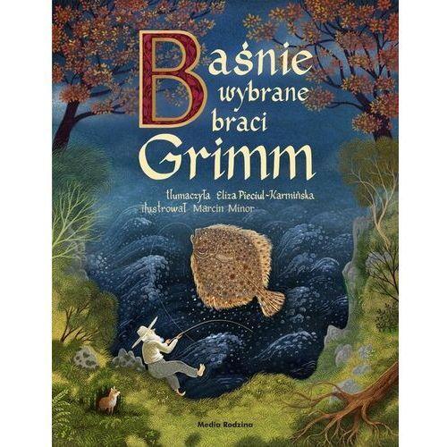Książki dla dzieci, Baśnie braci grimm (na podstawie 2 wydania z 1819 roku) (opr. twarda)