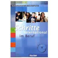 Książki do nauki języka, Schritte International Im Beruf Kommunikation Am Arbeitsplatz (Ćwiczenia z Płytą Audio CD) (opr. miękka)