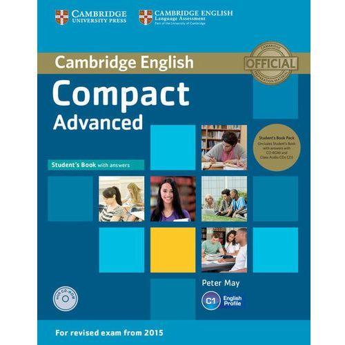 Książki medyczne, Compact Advanced. Podręcznik z Kluczem + CD-ROM + CD (opr. miękka)