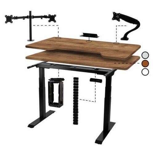 Biurka i stoliki, Biurko elektryczne do konfiguracji
