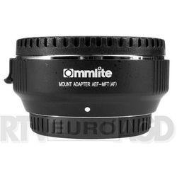 Commlite adapter bagnetowy Canon EF / Micro 4/3 - produkt w magazynie - szybka wysyłka! Darmowy transport od 99 zł | Ponad 200 sklepów stacjonarnych | Okazje dnia!